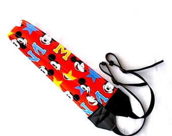 Mickey Mouse dSLR Complete Camera Strap! Standard Size! Great for a trip to Disney!
