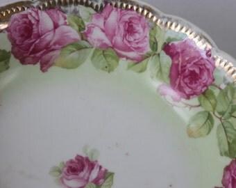 Rose-rimmed Bowl