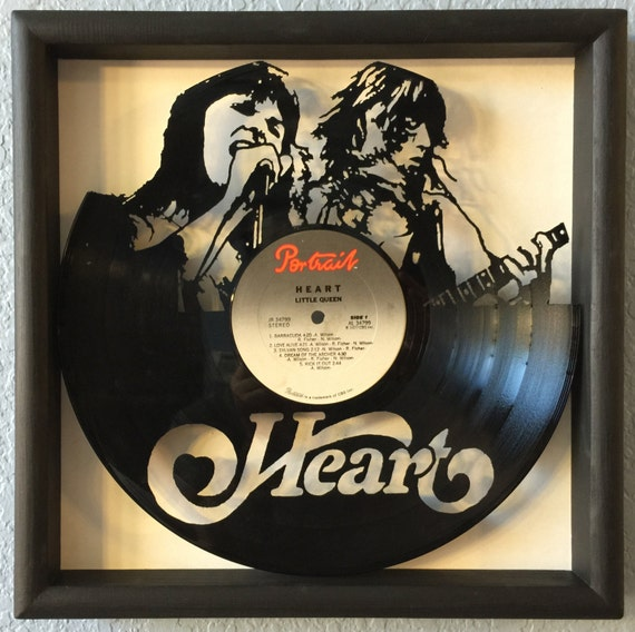 Heart Little Queen Vinyl Heart Little Queen Hand Cut