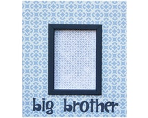 """big brother frame for 4""""x6"""" photo"""