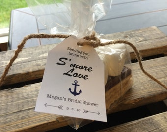 S'More Kits, S'More Favors, Wedding Favors, S'More Baby Shower, Party Favors, Favors