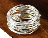 SALE! Tibetan Ring, Wedding Ring,  925 Sterling Silver Ring, Size 5 6 7 8 9  Gift Boxed, Guaranteed!