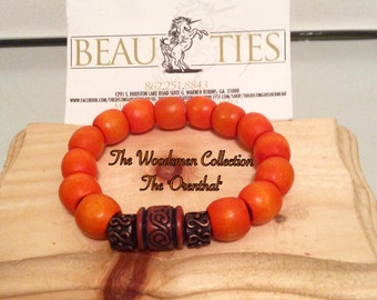 """The Woodsmen Collection... The """"Orenthal"""" Wooden Male Bracelet"""