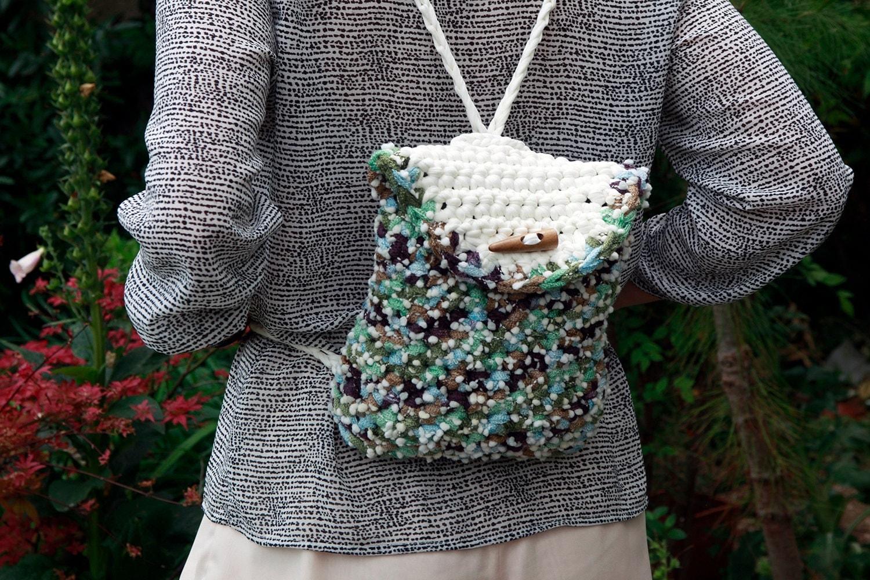 crochet backpack purse Backpack Tools