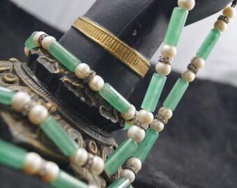 Green Adventurine Necklace and Bracelet