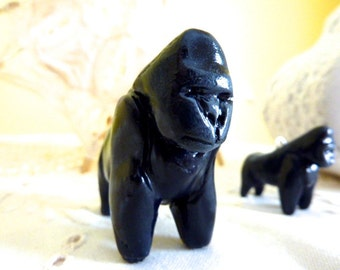 Gorilla Figurine Totem