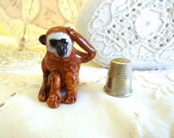 Monkey Figurine Totem