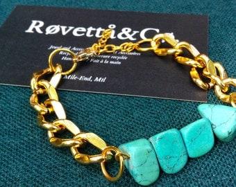 Island Bracelet, Turquoise