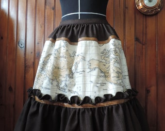 Steampunk lolita skirt