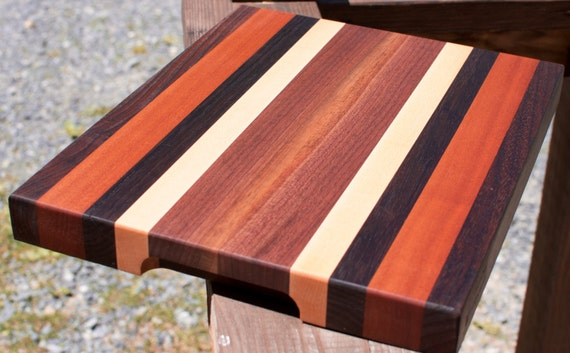 wedding gift custom wood cutting board by blowingrockwoodworks, Kitchen design