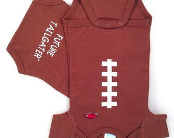 Arkansas Razorbacks Football Future Tailgater Baby Bodysuit