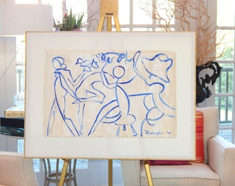 SOLD!!!     Large Original Abstract Paintings by Pamela Qarbaghi  SOLD!!!