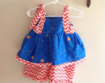 Dress/Two Piece Nautical Dress Size 1T