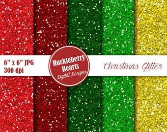 Digital Glitter Paper, Christmas Glitter Paper, Glitter Paper, Glitter Texture