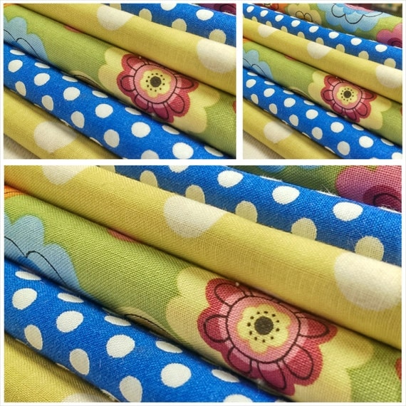 Kids fabric fabric bundle baby fabric novelty quilting for Childrens fabric bundles