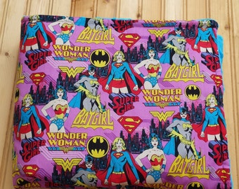 Women Superheros baby blanket