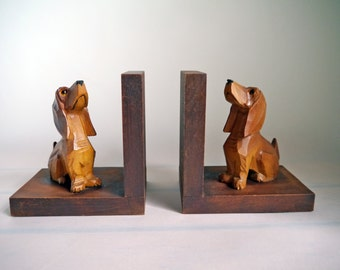dachshund bookends | etsy