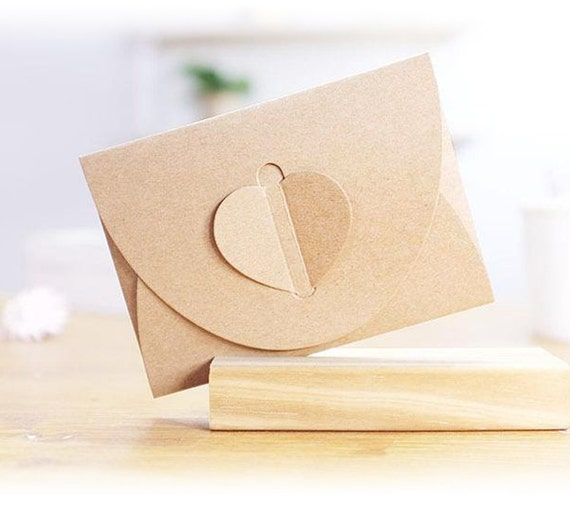 100 Korean Kraft Paper Envelope