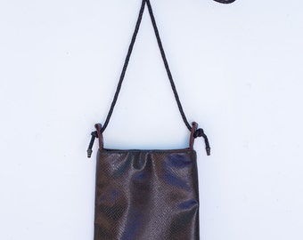 Cross Body Classic Brown Leather Handbag