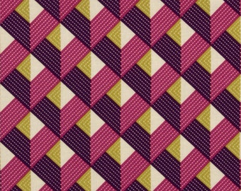 Bungalow, Chevron in Lavender by Joel Dewberry for Free Spirit Fabrics y 4108