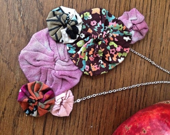 Blossom Cluster necklace 1