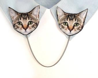 Tabby cat jewelry , tabby cat gift , grey cat jewelry , tabby cat lover , cat owner gift , gift for cat owner , gift for cat lover , cat jew