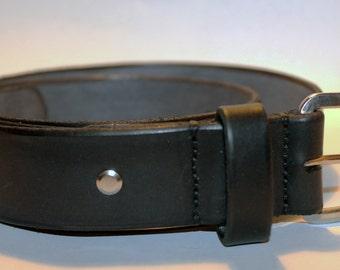 Black Leather belt! Handmade Leather Belt! High Quality Leather belt! Handmade Item! Leather Accessories!