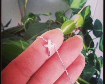 Confirmation gift, cross, cross charm, christian catholic jewelry,gift for sister or daughter