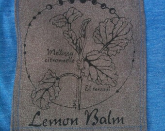 Lemon Balm Silkscreen t-shirt