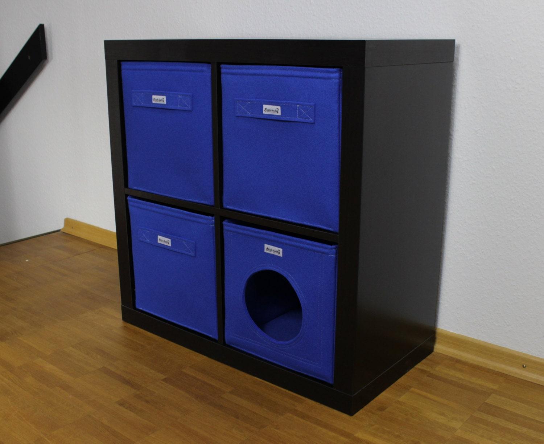 panier bleu plateau en feutre convenant expedit kallax ikea et. Black Bedroom Furniture Sets. Home Design Ideas