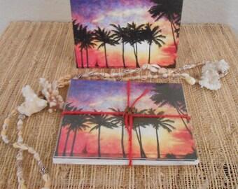 Hawaiian Sunset note cards