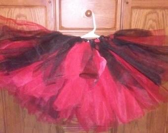 Red & Black  Girls Tutu (Full Skirt)
