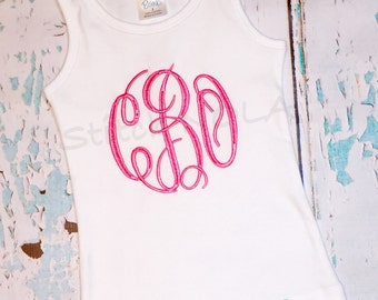 Monogrammed Boutique Tank Top