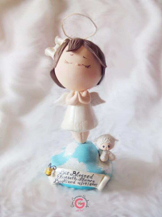 Angel Cake Topper Children Cake Topper Religious Cake Topper