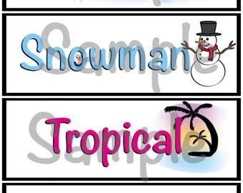 Word board designs 2