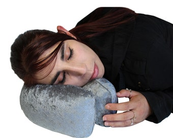 ZeBo. Travel Pillow & Memory Foam Neck Pillow. Your Bend To Shape Travel Pillow For That Just Right Spot.