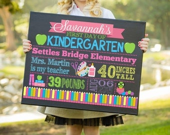 First Day Of School Sign, 1st Day of School Sign, First Day Of Kindergarten Sign, First Day Of Preschool Sign, Back To School Sign,Printable