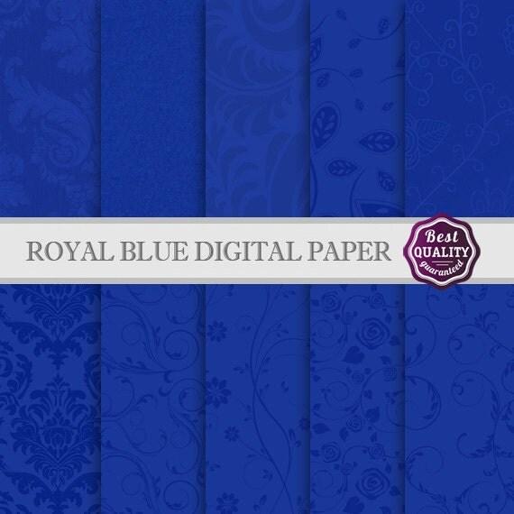 blue digital paper blue - photo #4