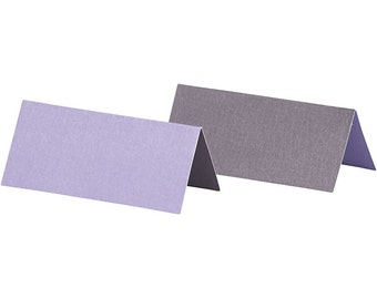 25 x Purple/Lilac Place Cards