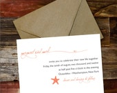 Wedding Invitation - Naut...