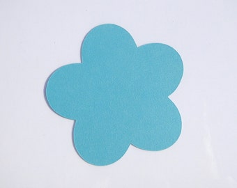 """Flower Die Cut Bulk- Cut Out Flowers- ANY COLOR- Set of 20- 4"""""""