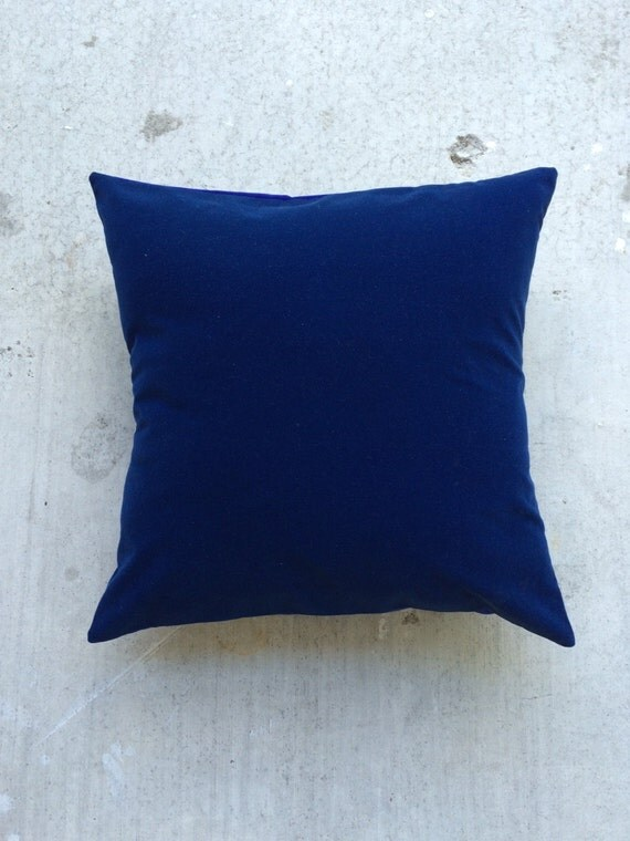 Navy and Royal Blue Pillow 14x14 Envelope by CostumesAndFossils