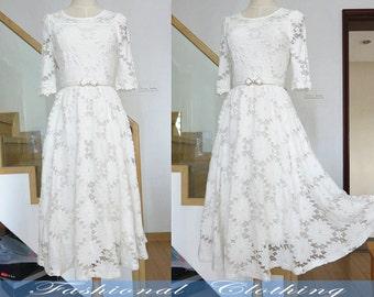 black white lace long dress large size dress plus spring autumn summer dress women clothing women dress half sleeve dress nice quality