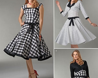 Simplicity Sewing Pattern 1061 Misses' Sew Chic Dress and Lined Jacket