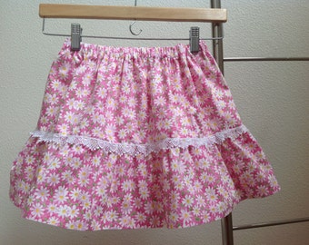 Girl's Cotton Skirt