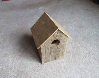 Rustic Barnwood birdhouse