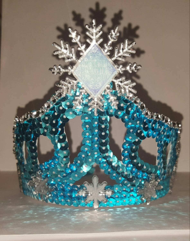 Frozen Elsa Tiara VERY SPARKLY