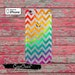 Rainbow Ombre Chevron Pattern Cute Clear Case iPhone 6 iPhone 6 Plus iPhone 6s iPhone 6s Plus iPhone 5/5s iPhone 5c iPhone SE iPhone 7 Plus