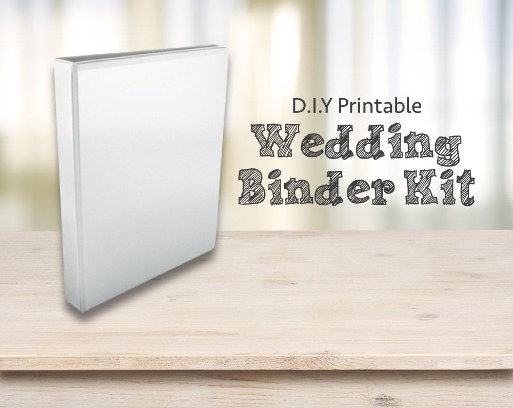 Wedding Planner Kit DIY Printable Planning