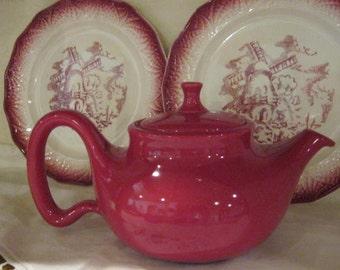 Red Tea Pot Chantal